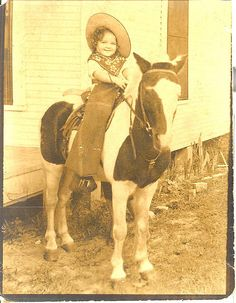 *Little Vintage Cowgirl