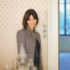 Sylvie Fleury, born in lives and works in Geneva. She is known for her mises-en-scène o. Sylvie Fleury, High Neck Dress, Blazer, Geneva, People, Image, Women, Fashion, Artists