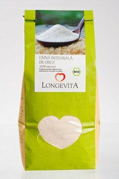 Făină integrală de orez, BIO, 500 gr.