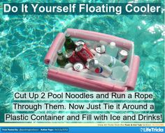 Pools  Hot Tubs - Make your Own Floating Cooler