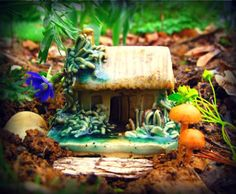 Fairy house in the garden