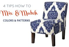tips how to mix and match colors and patterns at home #TargetStyle