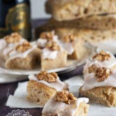 Focaccia Fumificus con noci, miele e lardo di Arnad. Condivisa da: http://www.solounvelodifarina.it/