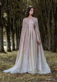 2016-17 AW Couture | Paolo Sebastian // oh my gosh beautiful elf fairy dress!!!