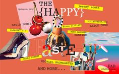 Cover of second issue of FAD; The Happy Paste-up