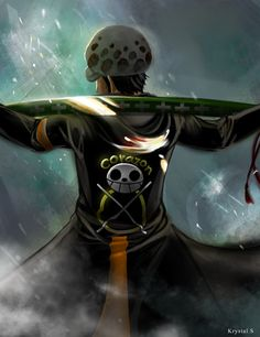 Trafalgar D. Water Law and his sword One piece