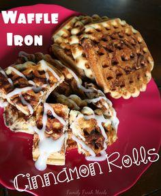 ... & Waffle on Pinterest | Waffles, Cinnamon Roll Waffles and Buckwheat