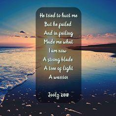 Strong Blade. #poem #poet #poetry