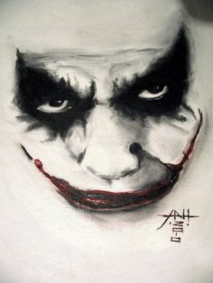 joker face watercolor - Tìm với Google