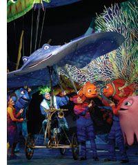 Disney World's Finding Nemo – The Musical | ColorfulPlaces.com #findingnemo #disneyworld #disneymusical #travelguide