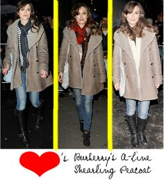 Keira Knightley winter casual style