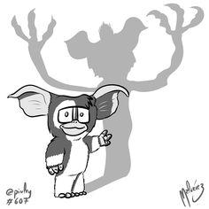 Gizmo  Gremlin  Today Gremlins is 32! Hoy Gremlins cumple 32 años!  #gizmo #mogwai #gremlin #gremlins #80s #spielberg #chriscolumbus#joedante #movie #film #amblin  #fanartZ #blackandwhite  #blancoynegro  #illustration #draw #sketch #drawing #art #artistsoninstagram #dailysketch  #cute #adorable #chibi #kawaii  #fanart #digital #digitalpainting #digitalart  #clipstudiopaint