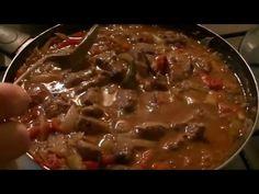 Higado a la portuguesa receta económica - YouTube Gout Recipes, No Salt Recipes, Manicure Y Pedicure, Food And Drink, Beef, Portuguese, Portugal, Cook, Youtube