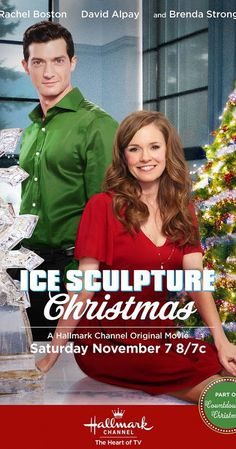 Ice Sculpture Christmas (TV Movie 2015). Very predictable plot but Callie and David are so cute to watch together you hardly notice.