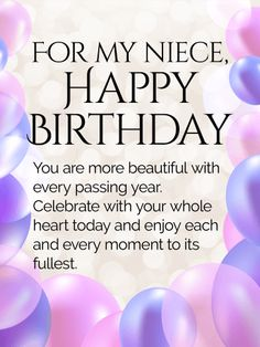 Its your day to shine happy birthday wishes card for niece add send free enjoy every moment happy birthday wishes card for niece to loved ones on bookmarktalkfo Image collections