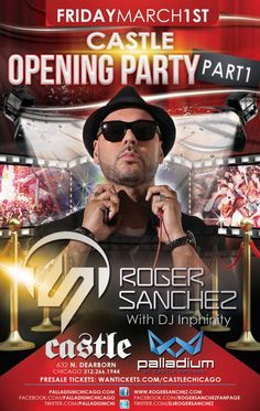 Tonight Say Surreal at Y Bar and Castle for Roger Sanchez, Sat. Lumen w/Tony Arzadon and Mid w/Diplo, Sunday B and Paul Johnson at BBR