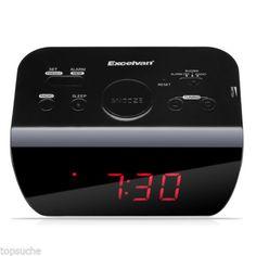 Led #digital display radio controlled alarm #clock fm radio sleep #snooze functio,  View more on the LINK: http://www.zeppy.io/product/gb/2/141990478563/