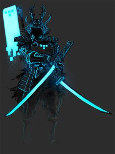 Omishiroi Renga. The Samurai of Light and Shadow.