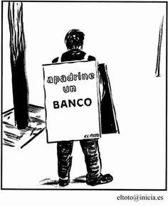El Roto - Apadrine un Banco
