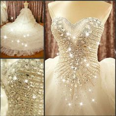 Vestidos de novia para bodas de cristal