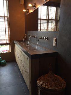 badkamer ideeen beton - Google zoeken