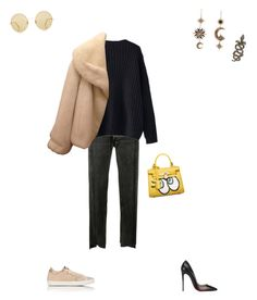 """Outfit of the night"" by alexdneprova on Polyvore featuring мода, Vetements, WithChic, Christian Dior, Golden Goose, Chicnova Fashion, Roberto Cavalli, Samira 13, Christian Louboutin и Sunday Somewhere"