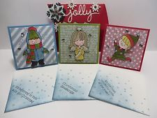 Stampin Up! Christmas Cuties Clear Stamp Set NEW CHRISTMAS
