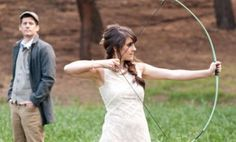 I want to do fun outdoor activities at my wedding. I never thought of archery.