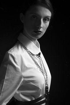 Photographer: Anastasia Nacu Designers: Răzvan Vâlceanu, Anca Irina Lefter Hair/Makeup: Roxana Luca – The Make-Up Therapist Model: Maia Filip @ MRA Models Agency