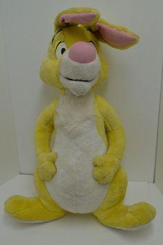 "Vintage Mattel Disney Large Winnie the Pooh Rabbit Plush Arcotoys Stuffed 32"" #Mattel http://stores.ebay.com/Lost-Loves-Toy-Chest/_i.html?image2.x=26&image2.y=14&_nkw=mattel"