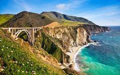 "Oh the views driving the Pacific Coast Highway in California and Big Sur! A great view of the Bixby Bridge, just another attraction of this great road trip... Camping or just an RV trip, this is one destination ""must""!"