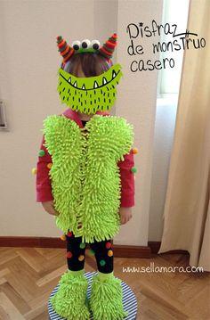 Disfraz de monstruo para niño / Baby Monster costume