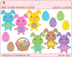 Cute Easter clipart