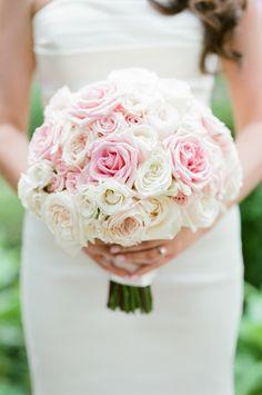 White Rose Bouquet, Rose Bridal Bouquet, Bride Bouquets, Bridal Flowers, Flower Bouquets, Purple Bouquets, Burgundy Flowers, Blush Flowers, Light Pink Rose