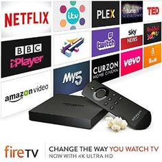 Dear Santa, I promise I've been a good girl... Please can I have an Amazon fire TV for Christmas?  We got rid of Sky a while ago and there are some channels that I sorely miss.  Affiliate link.