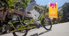 Elektrikli Kargo Bisiklet orta tahrik motoru | Yuba Kargo Bisikletleri