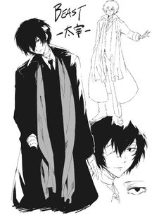 Read Character Design và Lời bạt from the story [Bungou Stray Dogs Light Novel] BEAST (full) by SamayoukiChii (Chii) with reads. Dazai Bungou Stray Dogs, Stray Dogs Anime, Anime Manga, Anime Art, Anime Demon, Manga Art, Wallpaper Nature Flowers, Bungou Stray Dogs Characters, Dog Wallpaper