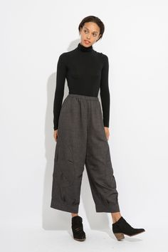 Description These pants are the epitome of style and comfortability. Study NY's Wool Pant is a straight and wide-leg, effortless wool pant. They are made from 100% cotton and are thin enough to keep y