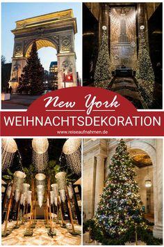 In den Tagen vor Weihnachten hat New York noch einmal einen ganz besonderen Flair. Das geht schon los mit dem berühmten Christbaum am Rockefeller Center und hört keineswegs mit der Schaufenster-Deko von Macys auf. Was du zu dieser Zeit nicht verpassen solltest und wie du den Trip dahin am besten planst, habe ich dir hier zusammengetragen: Empire State Building, Manhattan, New York Weihnachten, New York City, Tourism, Christmas Tree, Holiday Decor, Rockefeller Center, Georgia