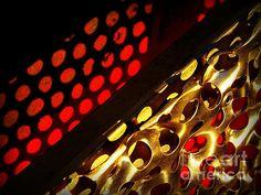Perforated Panel Abstract 3 - photograph by James Aiken james-aiken.artistwebsites.com #jamesaiken #abstractart #macrophotography
