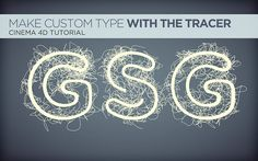 Tracer Type Tutorial For Cinema 4D by Nick Campbell. See the full tutorial here: http://greyscalegorilla.com/blog/tutorials/tracertext/ #Cinema4D,#tutorials, #C4D, #Cinema4D, #C4D,#animation,#typography