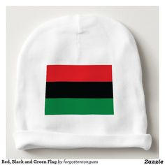 Red, Black and Green Flag Baby Beanie