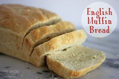 English Muffin Bread. EASY add all the ingredients together at one time, mix, and put in the pans. No need to flour a board, no kneading, no loaf forming, nothing.