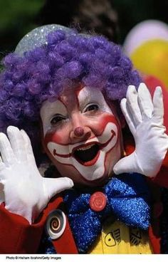 Photo Gallery of Face Painting Designs: Face Painting Designs: Laughing Clown Clown Faces, Creepy Clown, Face Painting Designs, Paint Designs, Clown Face Paint, Female Clown, Send In The Clowns, Maquillaje Halloween, Circus Clown