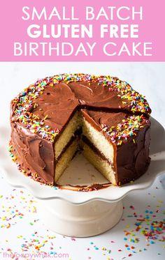 Gluten Free Vanilla Cake, Best Gluten Free Desserts, Dairy Free Cheesecake, Raw Cheesecake, Drip Cake Recipes, Easy Cake Recipes, Victoria Sandwich Cake, Gluten Free Birthday Cake, Flourless Desserts