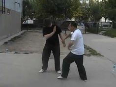 Shang Xing Yi Quan - Quick Demonstration of Basic Application - YouTube