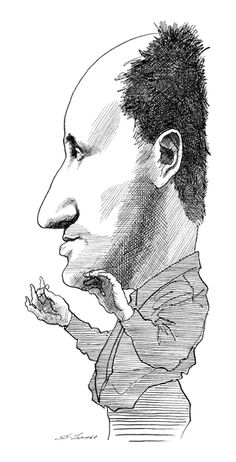 Pierre Boulez Illustration, David, Draw, Gallery, Writers, Artist, September, Caricatures, Bandleaders