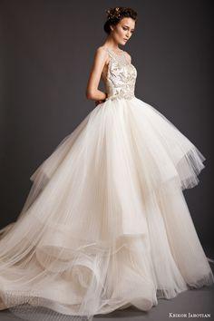 Krikor Jabotian Spring 2014 #couture collection #wedding dress #weddinggown #weddingdress