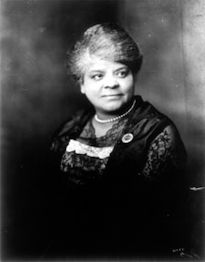 Born of slaves, Ida B. Wells-Barnett fought to stop the lynching of Black Americans, carrying her fight to the White House. In 1898 she was part of a delegation to President McKinley demanding government action in the case of a Black postmaster who had been lynched in South Carolina.