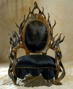The king throne chair in red velvet with gold wood finish for Buy iron throne chair